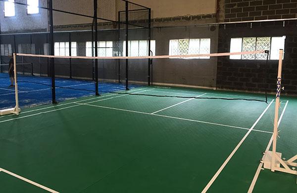 materiel de badminton