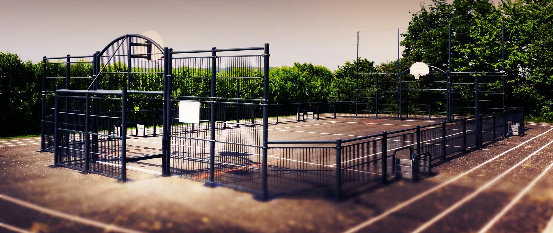 terrains de basket