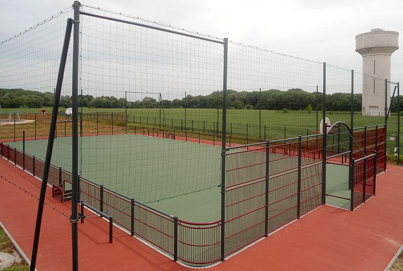 Terrain multisport, Corbeheim (62)