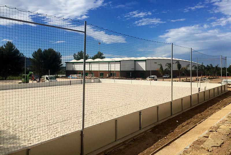 Terrain de Beach soccer, Toulon (83)