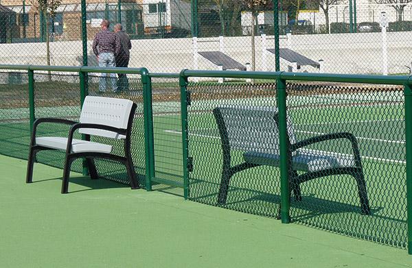 chaise de tennis arbitre