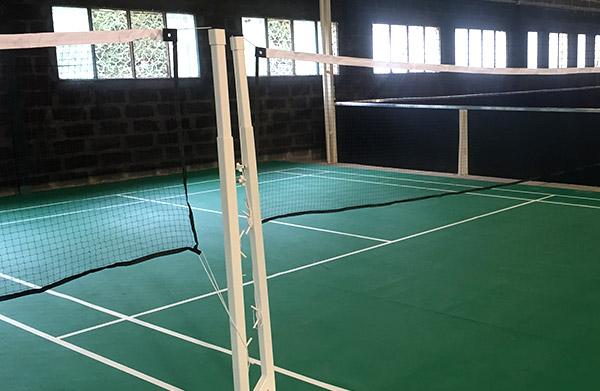 filet entrainement de badminton