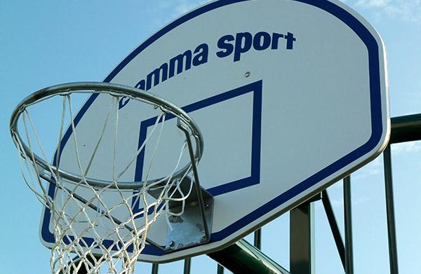 panneau de basket en fibre polyester