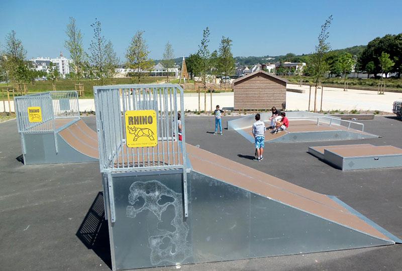 Skatepark, Landerneau (29)