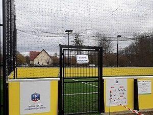 Terrain football A5 à Sarrey programme FAFA