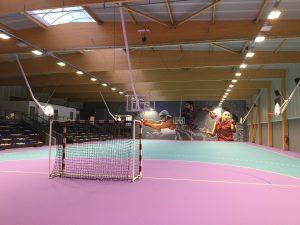 Gymnase avec tribunes à Bourg Blanc