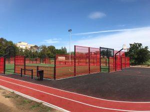 Streetpark tout métal avec piste d'athlétisme à Saint-Saulve (59)