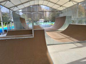 Skatepark à Paris (Stade Charles Moureu)