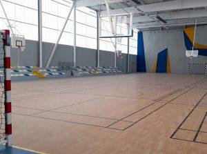 Gymnase à Saint-Méen le Grand (35)
